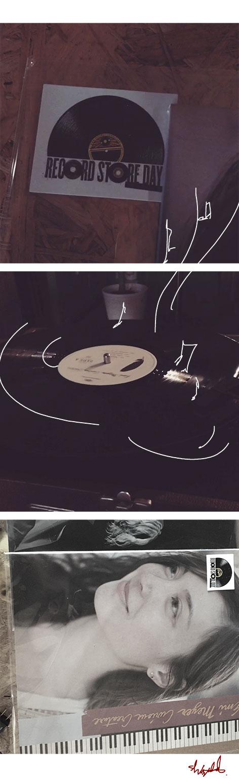 4月21日のレコードストアディ。