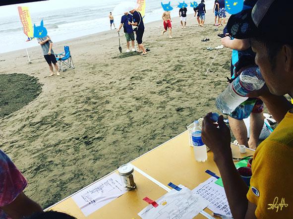 第2回ビーチレスリング大会in青島