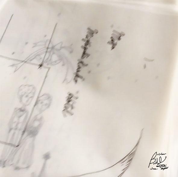 仕事の工程(イラスト編)