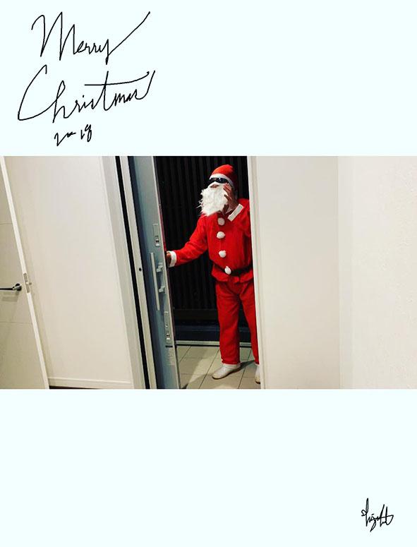 2018年、サンタ登場シーン 1